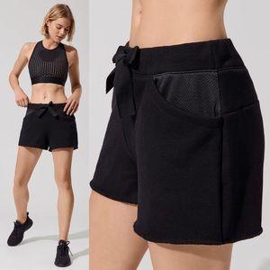 ALALA Notch Shorts in Black